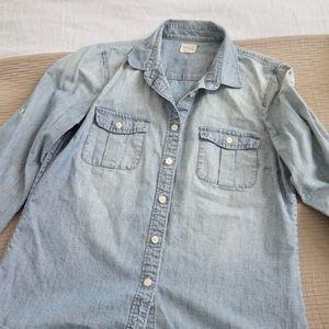 Jcrew Denim Shirt